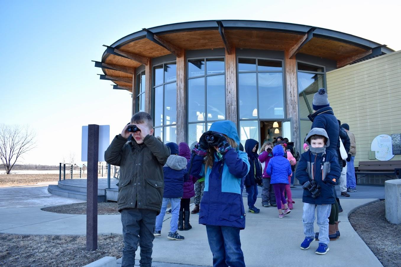 Eagle Watching at Audubon Center at Riverlands